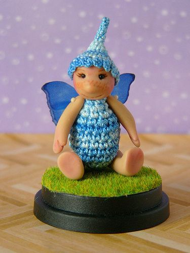 A Little Blue Fairy