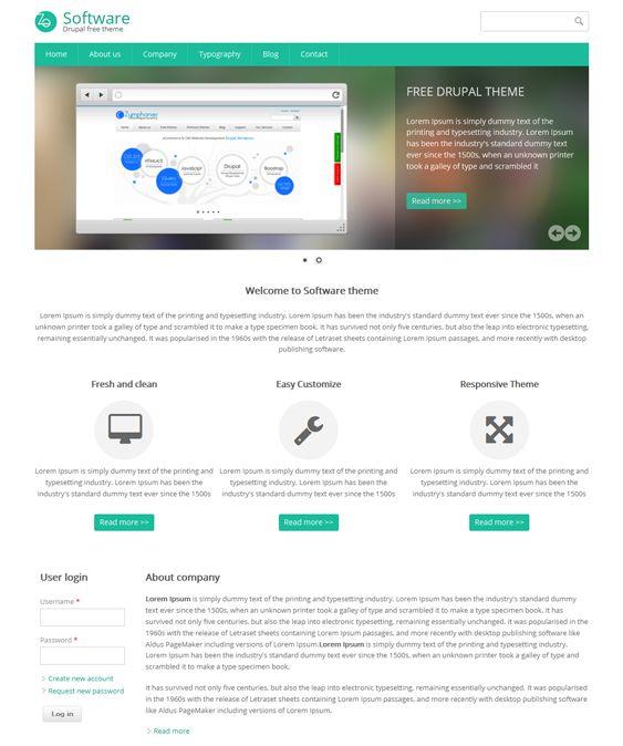 bootstrap drupal theme free download