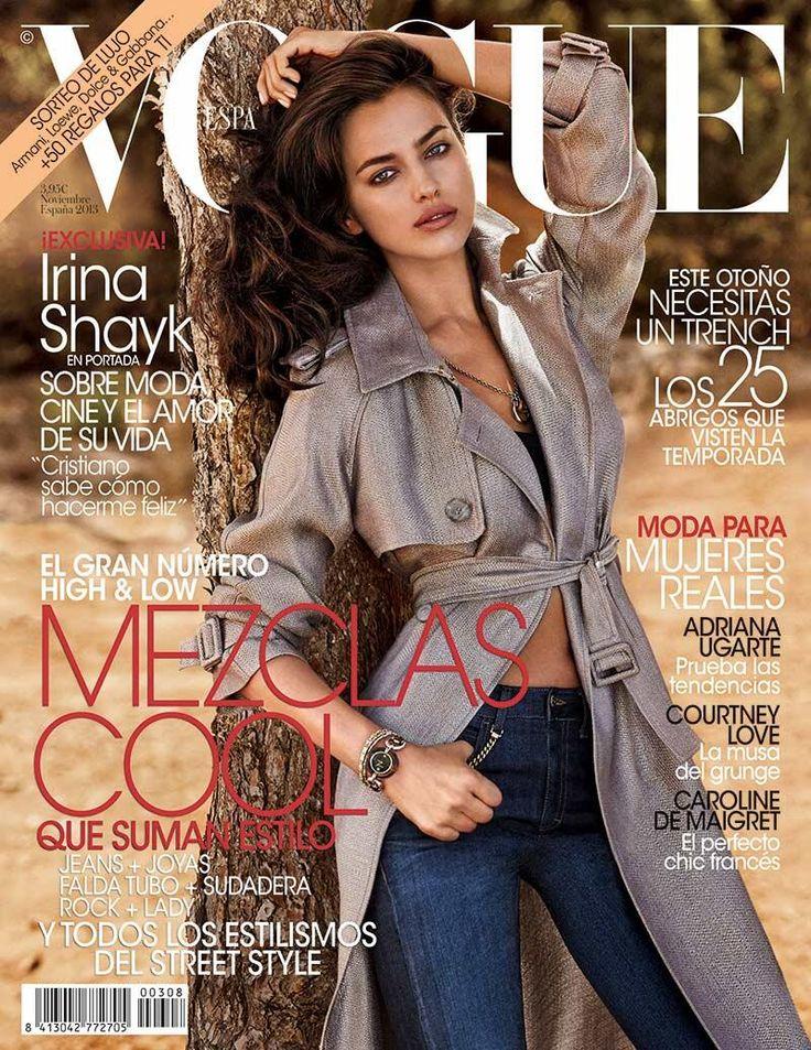 Irina Shayk Lands First Vogue Cover for Vogue Spain November 2013