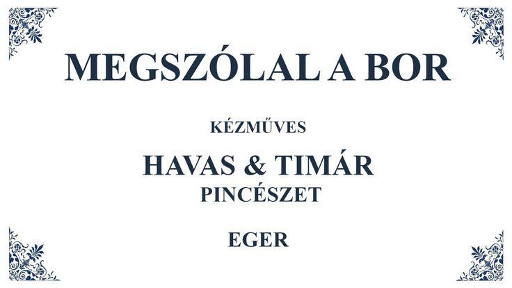Interjú Havas Balázzsal és Timár Lászlóval a Havas&Timár Pincészet borászaival.