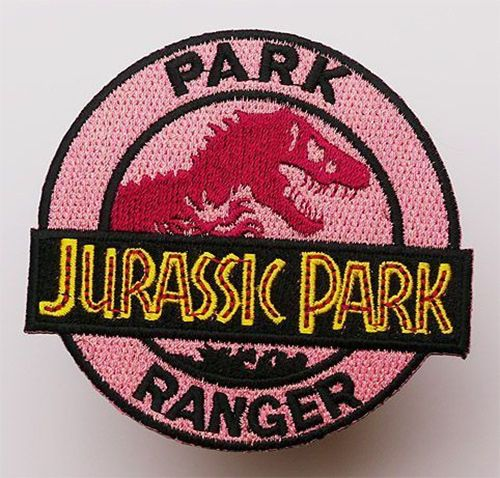 JURASSIC-PARK-Park-Ranger-Uniform-Embroidered-Iron-On-Patch