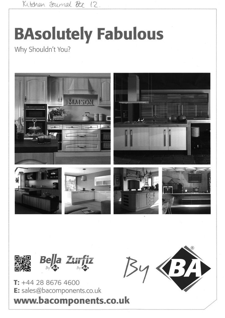 BA Components. BAsolutely Fabulous. Kitchen Doors.