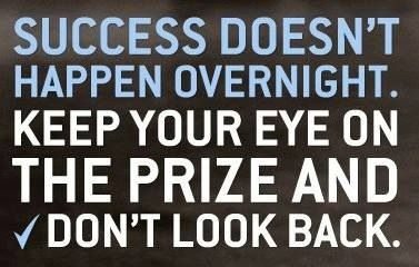 Image result for overnight success doesn't happen overnight