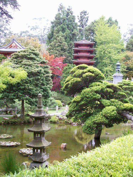 San Francisco Japanese Garden Pic By Crystal Ardelean My Pics Pinterest Gardens San