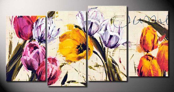 Cuadro flores - Summertine de Antonio Massa-CA4075