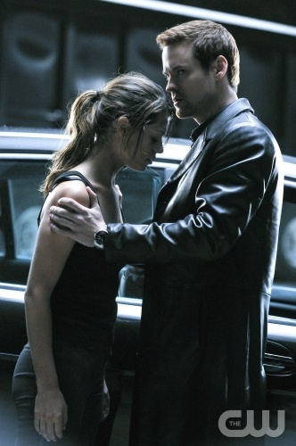 """Nikita """"Resistance"""" Pictured: (L-R) Lyndsy Fonseca as Alex and Shane West as Michael. Photo Credit: Ben Mark Holzberg /The CW ©2010 The CW Network, LLC. All Rights Reserved"""