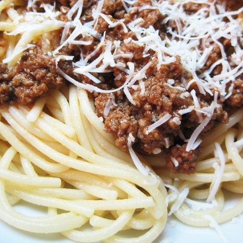 Μακαρόνια με κιμά (σάλτσα Μπολονέζ)