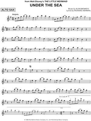 Alto Sax Sheet Music