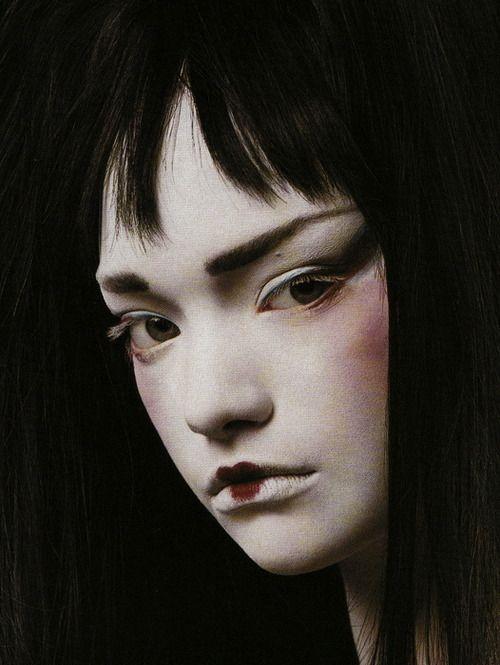 Gemma Ward by Steven Meisel for Vogue Italia, January 2004.