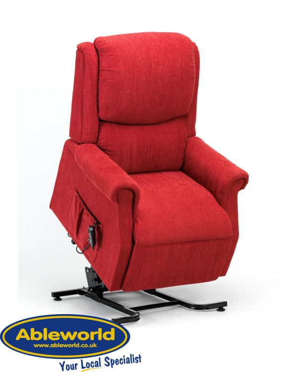 Stylish u0026 comfortable this riser recliner chair has a soft feel Chenille fabric and an easy ...  sc 1 st  Pinterest & 11 best Riser Recliner Chairs images on Pinterest islam-shia.org