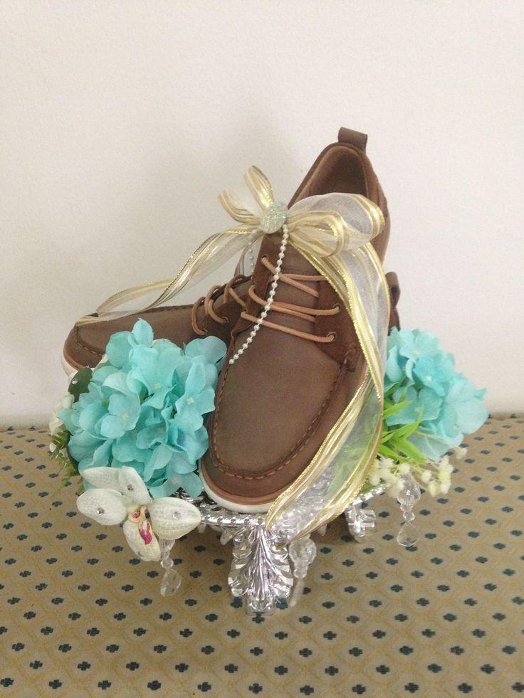 Wedding Hantaran | White,Gold,Tiffany Blue