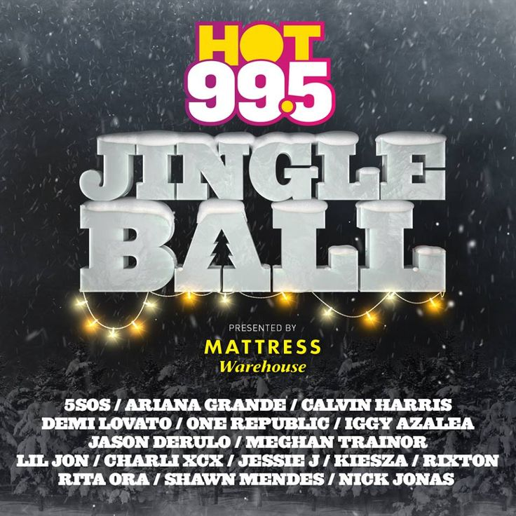 Mattress Warehouse Is Proudly Presenting Hot Jingle Ball At The Verizon Center In Washington Dc On December Check Out This Years Awesome Lineup
