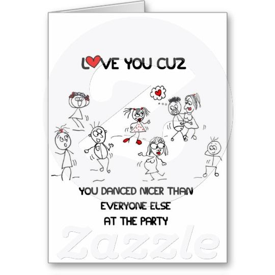 I Love You Because Greeting Card