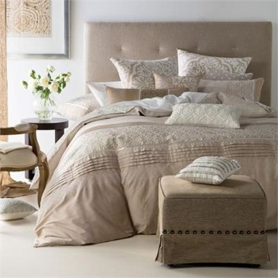 You need this Linen House Gianna  - Beige