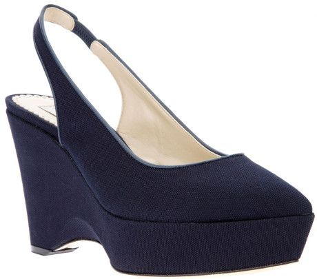 s blue canvas wedge shoe wedge shoes stella