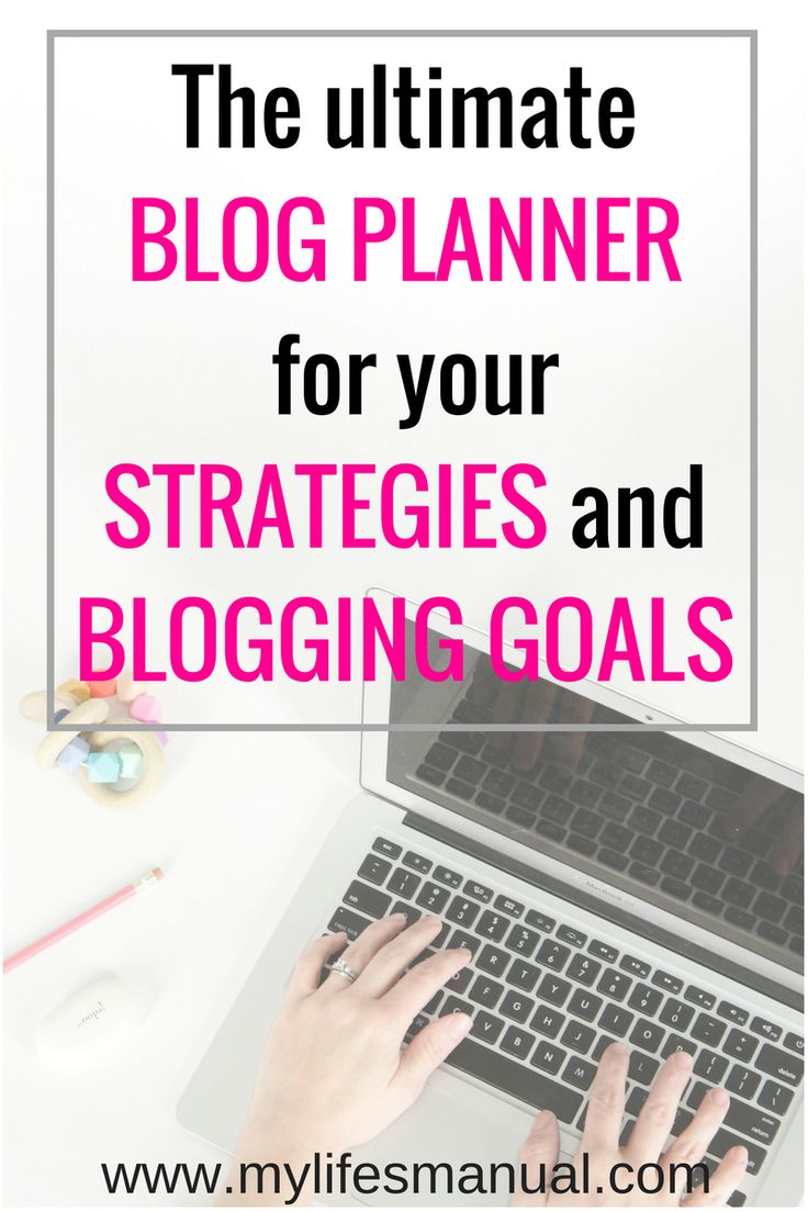 Keep track of your blog strategy and keep them organized by using a blog planner. Be accountable to your own goals and be on top of your business game.