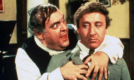 Zero Mostel and Gene Wilder form the original producers—one f the funniest, and twisted in a good way—movies ever.