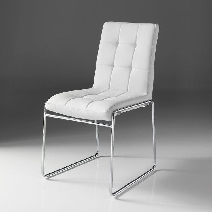 Coppia sedie bianche Alice