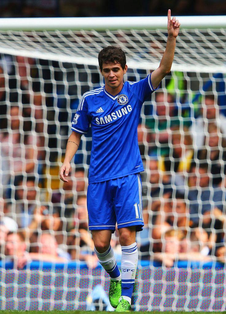 Oscar. Chelsea 2-0 Hull City. Premier League. Sunday, August 18, 2013.