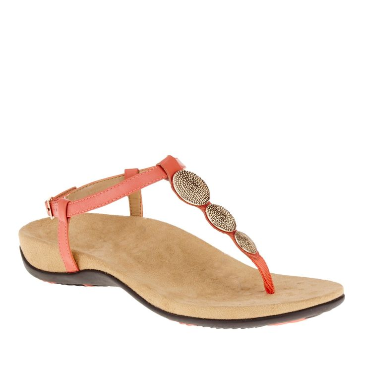Awesome Aetrex Amalie Leather Arch Support Silde Sandals Ivory  The Shoe Link