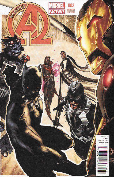 The New Avengers # 2 Marvel Now Vol 3 Simone Bianchi Variant 1:50