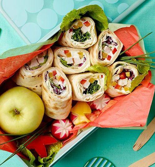 Wrapy z kurczakiem i chrupiącymi warzywami. Kuchnia Lidla - Lidl Polska. #lidl #dzieci #wrapy