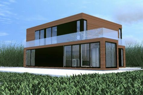 Shipping container home...