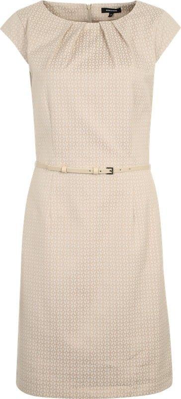 MORE & MORE Elegantes Kleid mit Gürtel in pink   ABOUT YOU