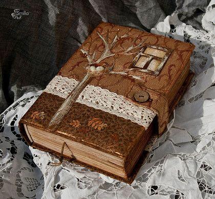 """Блокноты ручной работы. Ярмарка Мастеров - ручная работа Блокнот """"Золотая осень"""". Handmade."""