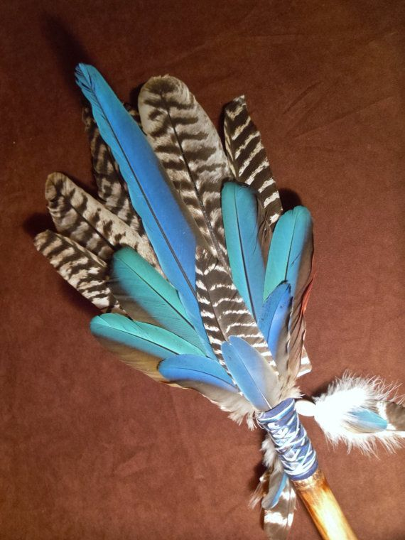 Smudge Fan The Whole Spectrum Large Sacred Prayer by MoonMotions, $62.62