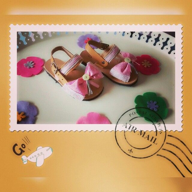 Lovely baptism baby sandals