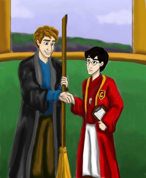 Cormac Mclaggen Keeper By Dkcissner Harry Potter Griffendor Potter