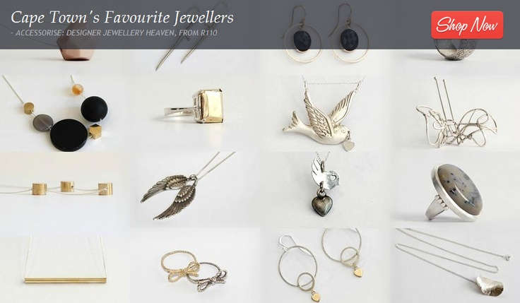 """Feast your eyes on this exclusive jewellery sale showcasing Skermunkil, 2 birds with some stones, Pierre-Estienne and Janine Binneman masterpieces. Handcrafted and wonderfully twisted gold and silver rings, pendants, earrings and hairpins adorned with sapphires or dendritic agate will seduce your eyes and steal your heart."" www.citymob.co.za"