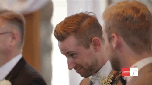 …others overcome with emotion… | The Way These Guys Look At Their Brides For The First Time On Their Wedding Day Is Magical
