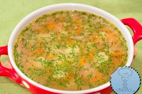 Суп из консервы горбуши