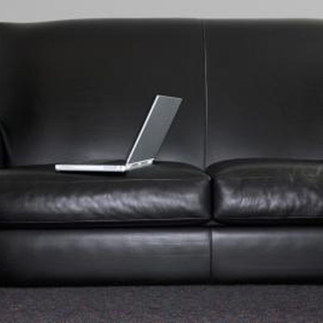 It is possible to repair a tear in a leather couch.