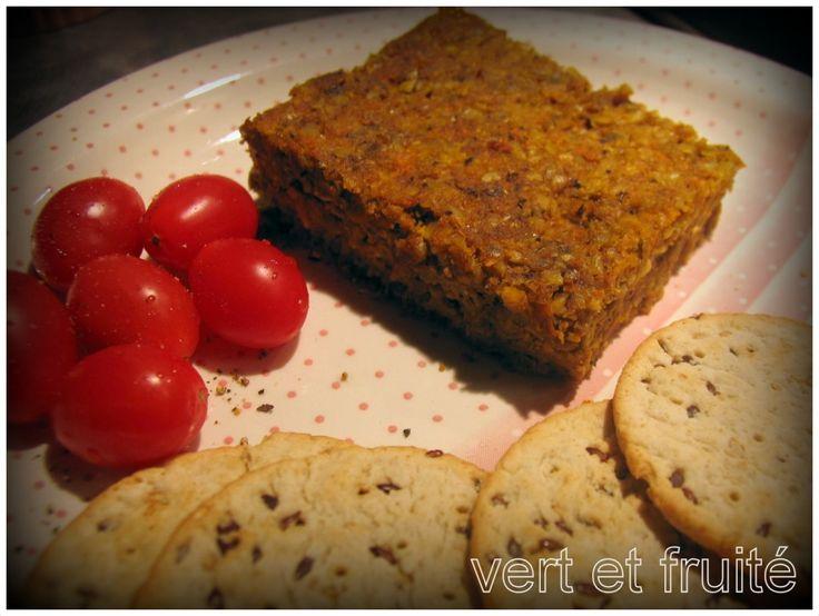 Végé-pâté aux graines de tournesol et de citrouille