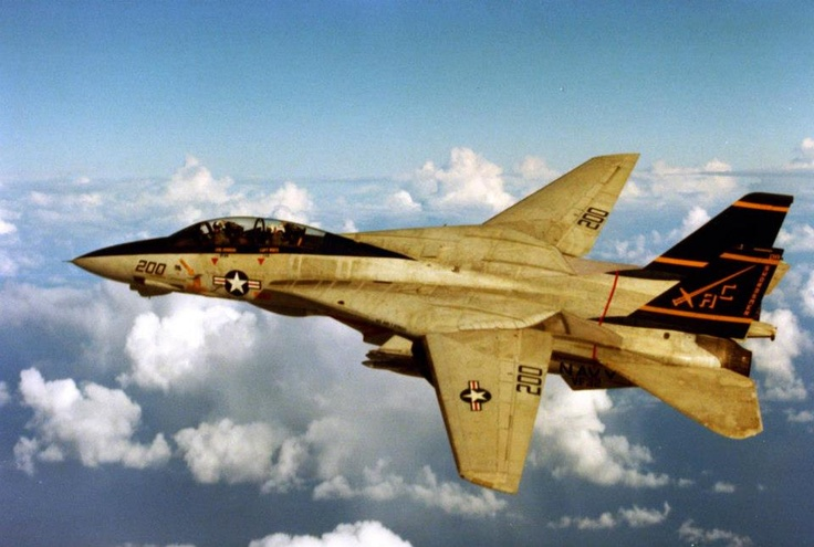 """On 4 January 1989, F-14 """"Tomcats"""" (VF-32) from USS John F. Kennedy shot down 2 hostile Libyan MiGs with AIM-7 [Sparrow] and AIM-9 [Sidewinder] missiles in the central Med north of Tobruk in international waters. As a CVW-3 chronicler laconically summed it up: 'USN - 2, Libya - 0.'"""