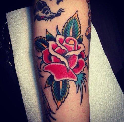 20 Classic & Traditional Rose Tattoos | Tattoodo.com