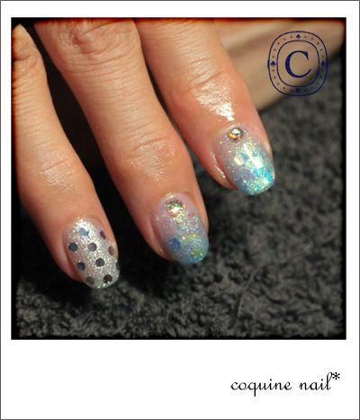 かき氷ネイル。コバルト編。 | KiccA nail