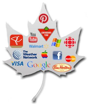Tech and Social Web Dominate the Most Influential Brands in Canada