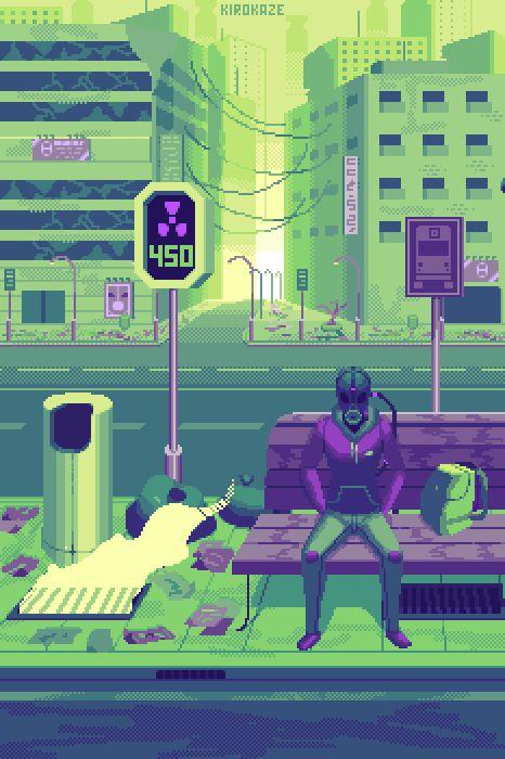 105 best images about pixel art on Pinterest | Cyberpunk