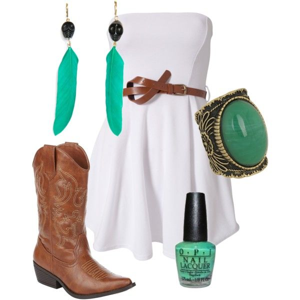 I want!!!!: Country Concert, Cowboy, Fashion, Country Outfit, Style, Color, Cowgirl, White Dress, Ohthosedresses 3