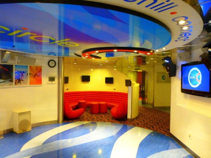 """Circle """"C"""" Club for tweens and teens ages 12-14 on the Carnival Miracle"""