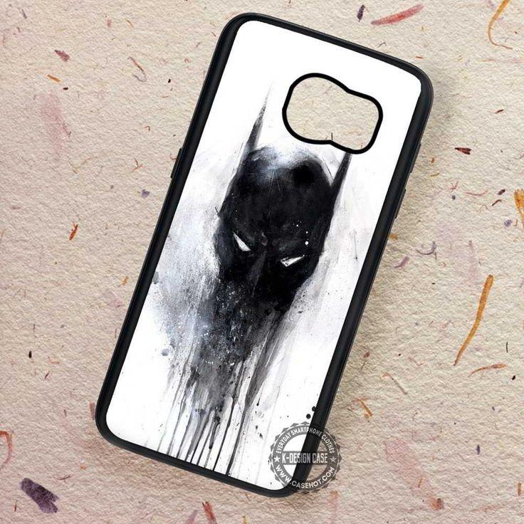 Dark Face Dark Knight Batman - Samsung Galaxy S7 S6 S5 Note 7 Cases & Covers