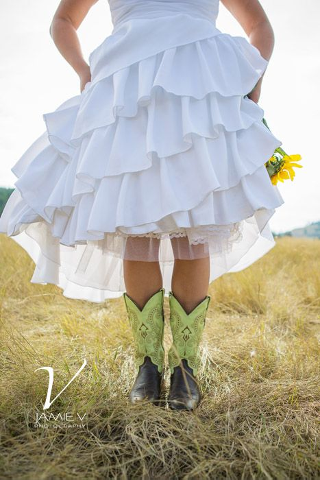 Rustic Country Wedding boots Photography