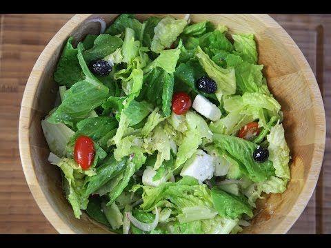 Yunan Salatası Nasıl Yapılır ? (Greek Salad) - İdil Tatari - Yemek Tarifleri - YouTube