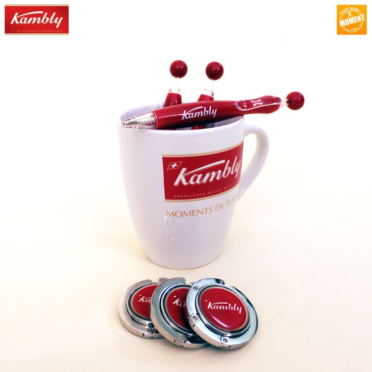 Nouveau partenaire du Moment #LeParisde20Minutes : les biscuits #Kambly avec un sac rempli de tasses, stylos et porte-sacs ! #VeryGoodMoment