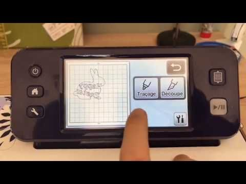 Tutoriel ScanNCut CM900 Brother - Découpe Flex - YouTube