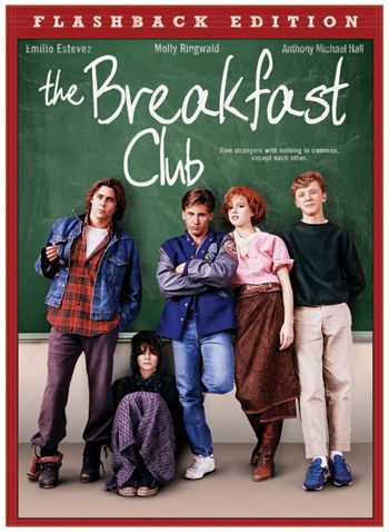 A brain, an athlete, a basket case, a princess and a criminal learn the others are more than they appear.  This shows you that one of the most important education comes from what you learn outside the books.: Film, 80S Movie, The Breakfast Club, Movies Tv, High School, 80 S Movie, Favorite Movies, Thebreakfastclub